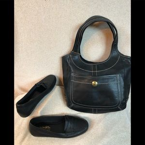Coach shoes and bag